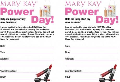 Mary Kay Party Invitations was amazing invitations layout