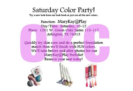 Mary Kay Party Invitations for luxury invitation design