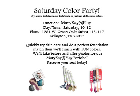 Mary Kay Party Invitations gangcraftnet – Mary Kay Party Invitation